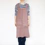 Linen apron Pinafore apron Colors
