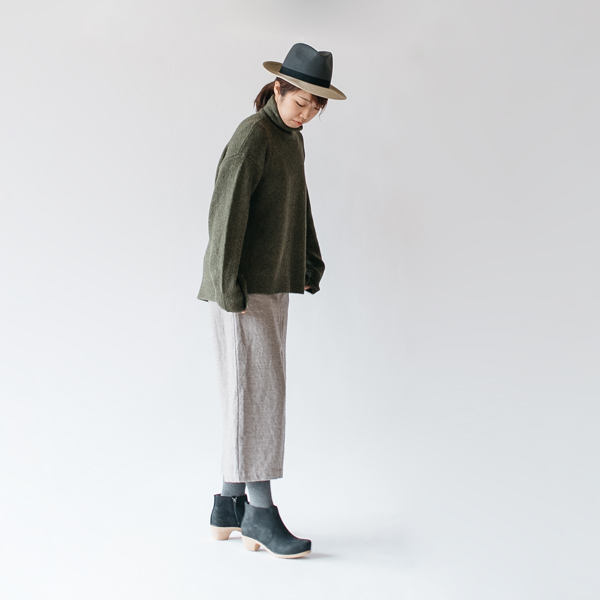 コーディネートイメージ(grayish mocha) モデル身長:167cm