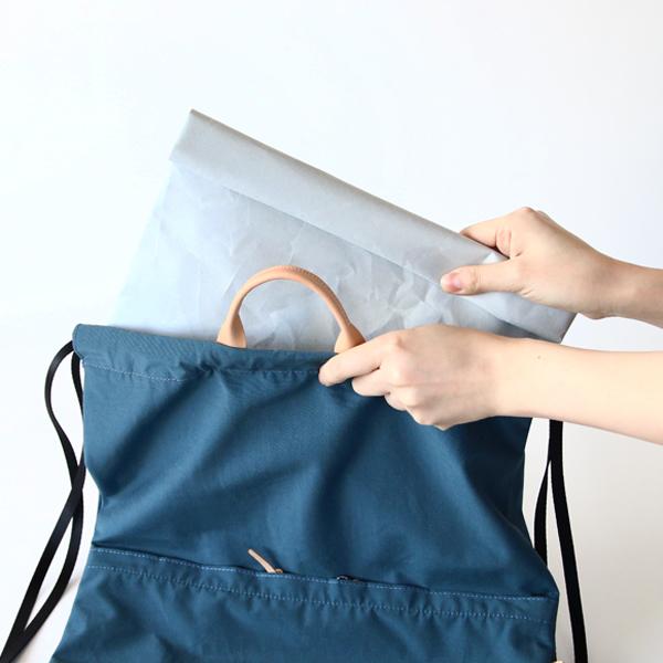 細々したものを纏めてインナーバッグにしたり、開封後も長く使ってもらえるギフトラッピングとしたり、様々な使い方ができます