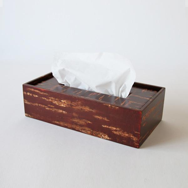 素箱 ティッシュケース(無地皮)