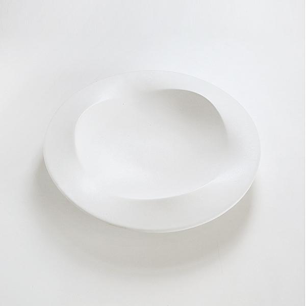 プレート wave L(white)