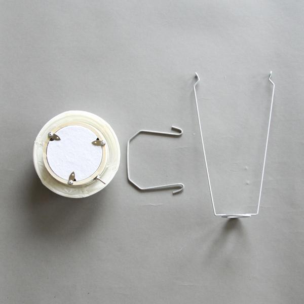 組み立て式の提灯ランプ