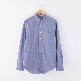 Men B.D. shirt GIZA 100-2 BROAD GINGHAM CHECK