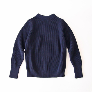 セーラーセーター  THE NAVY  CREWNECK Navy Blue