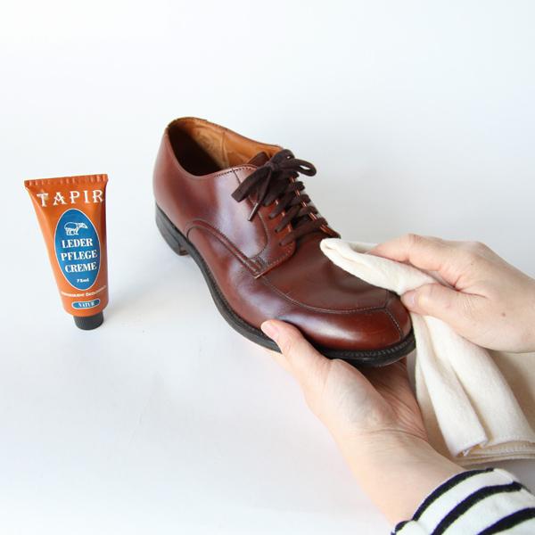 革靴やバッグ、ベルトなどのお手入れに
