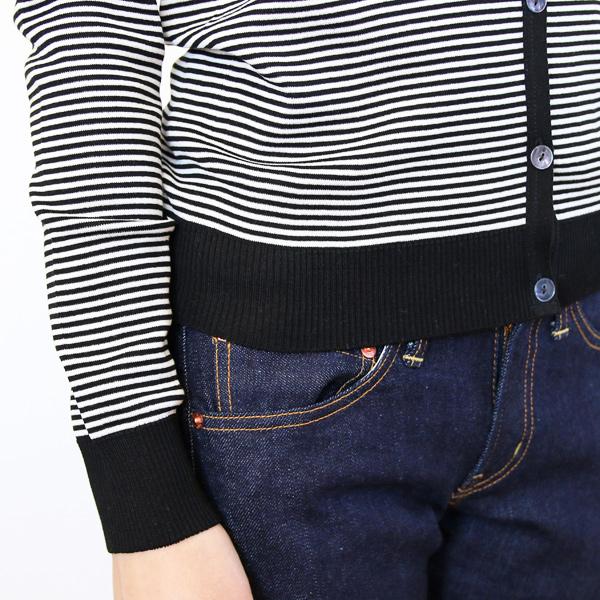 袖・裾(ブラック×ホワイト)