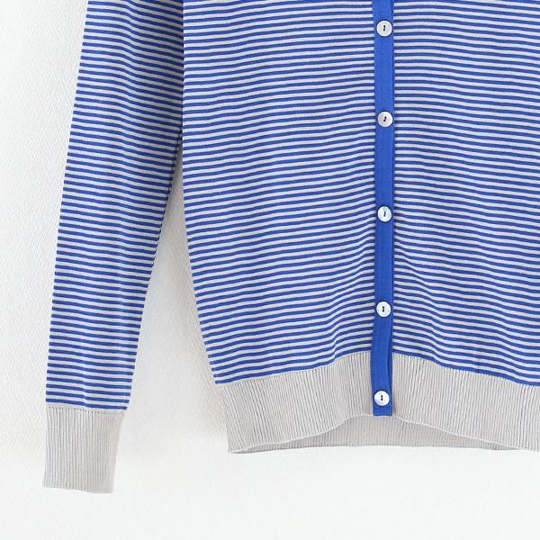 袖・裾(ブルー×グレー)