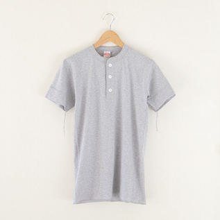 Henly Neck S-S Heather Gray