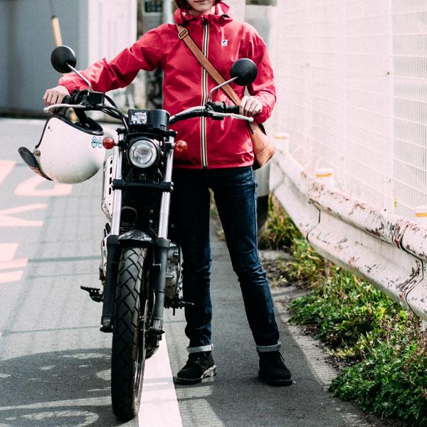 パッカブル ウィンドブレーカー Red イメージ