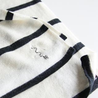 錨(イカリ)モチーフの刺繍