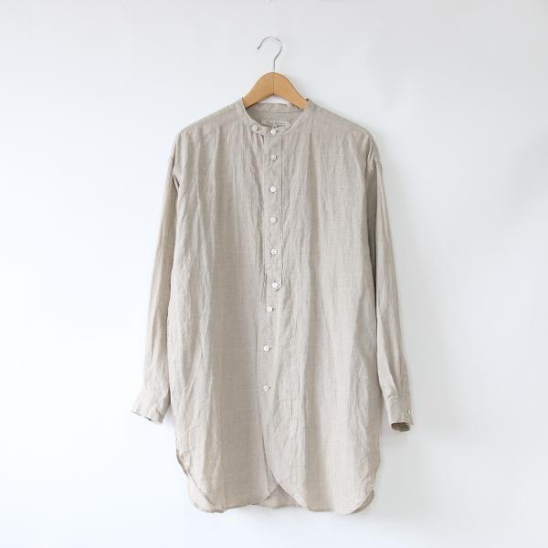 リネン チュニックシャツ(FLAX)