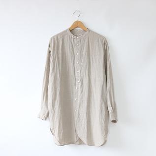 リネン チュニックシャツ