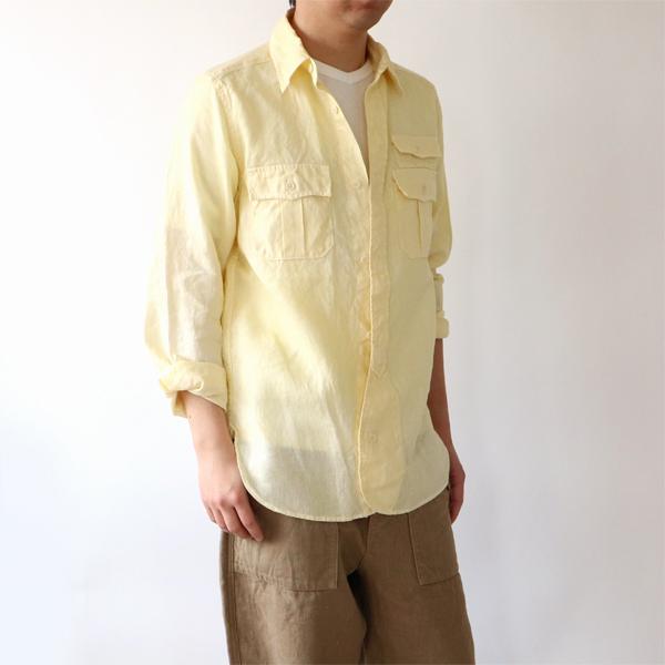 少し大きめサイズを羽織として(モデル身長:169cm 着用サイズ:48)