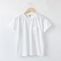ユニセックス SUNNY クルーネックTシャツ OZONE WHITE