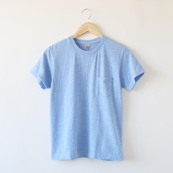 SUNNY クルーネックTシャツ(MARINE BLUE MELANGE)