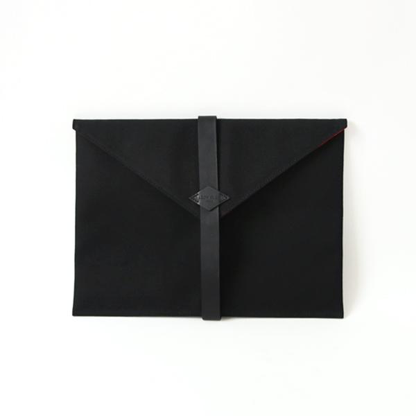 クラッチバッグラップトップケース(FULL BLACK)