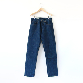 Slim fit jeans 12D02 Slub indigo