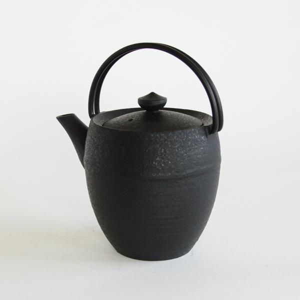 ティポット・丸筒・S(鉄)ブラック