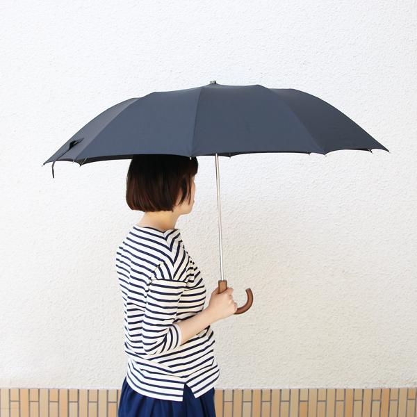 広げると長傘と同等サイズです