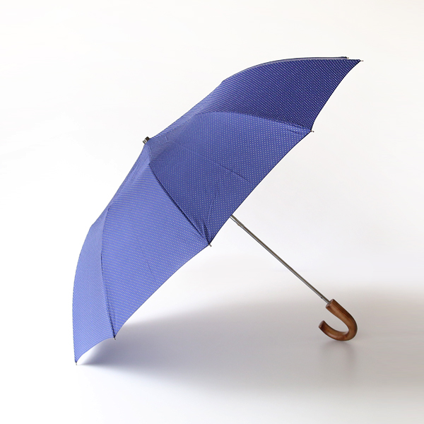 折りたたみ傘 スポットネイビー
