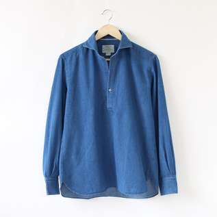 MEN CHAMBREY SKIPPER SHIRT
