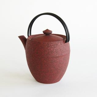 Teapot round cylinder S iron