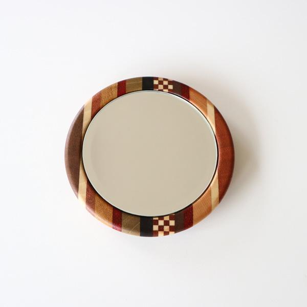 丸手鏡(縞市)