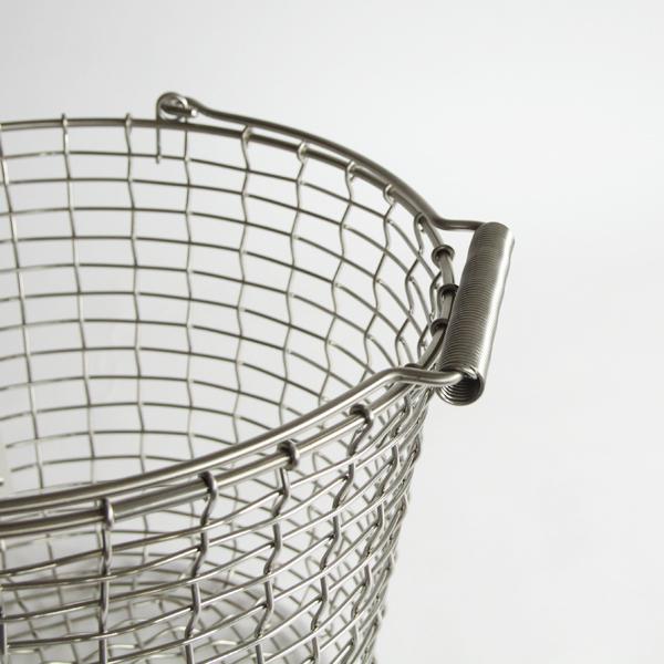 耐久性とデザインの美しさを兼ね備えたバスケット