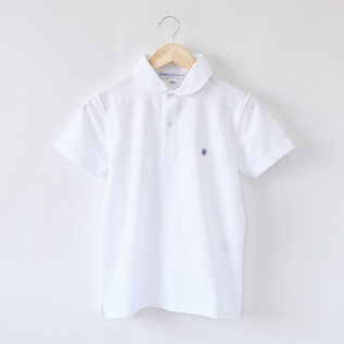 Polo shirts Round Collar Blanc