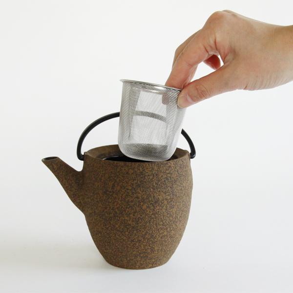茶こし網部分は取り外しできます