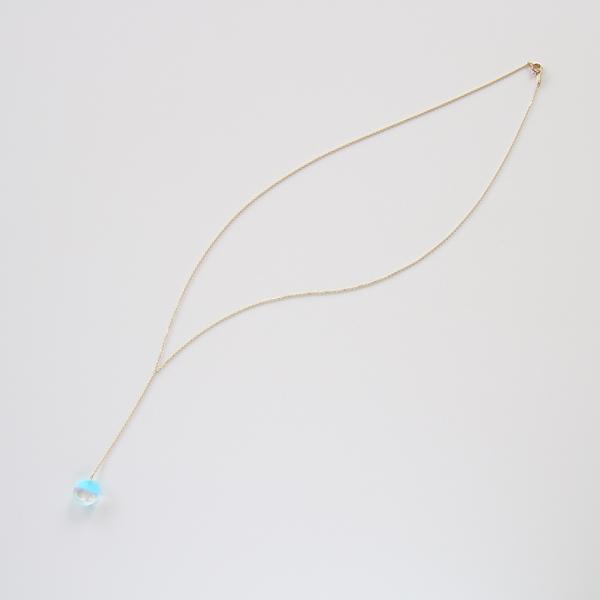 モードな印象のY字タイプ(sea blue chalcedony)