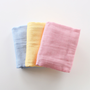 MIKAWA COTTON GAUZE THROW HALF