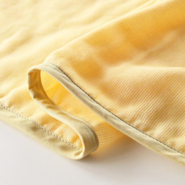 何十種類もの糸を使った異なる5層の生地でできた多重ガーゼ
