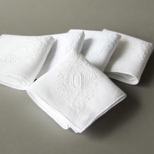 Suwato initials handkerchief