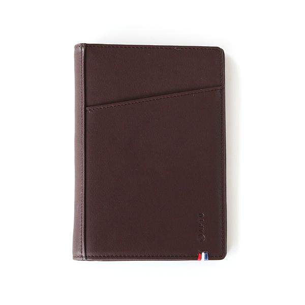 パスポートケース(DARK BROWN)