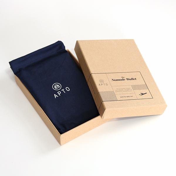 巾着袋つきパッケージ
