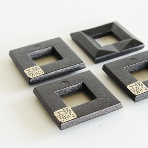 伝統の技とデザイナーの想いを感じることができる、箸置き・角(4個)