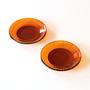 水輪 豆皿 2枚セット(円・光)