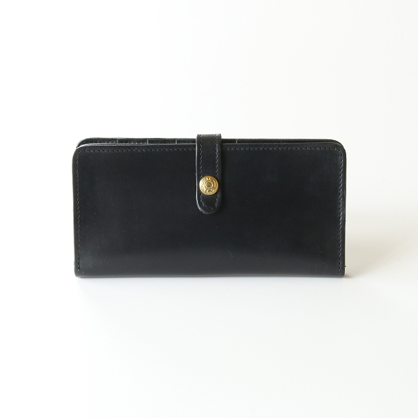 ROUND LONG WALLET(NEW BLACK)
