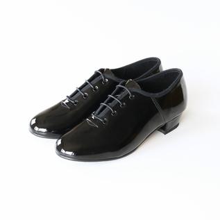 フラットシューズ JazzShoe Patent/Black