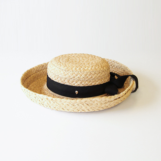 Straw Hat Classic 5 Natural Black