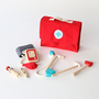 WOODEN TOY DOCTOR SET