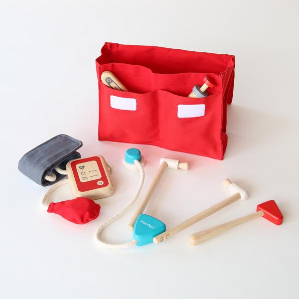 5種類の医療器具と、持ち運び用のコットンケースのセット