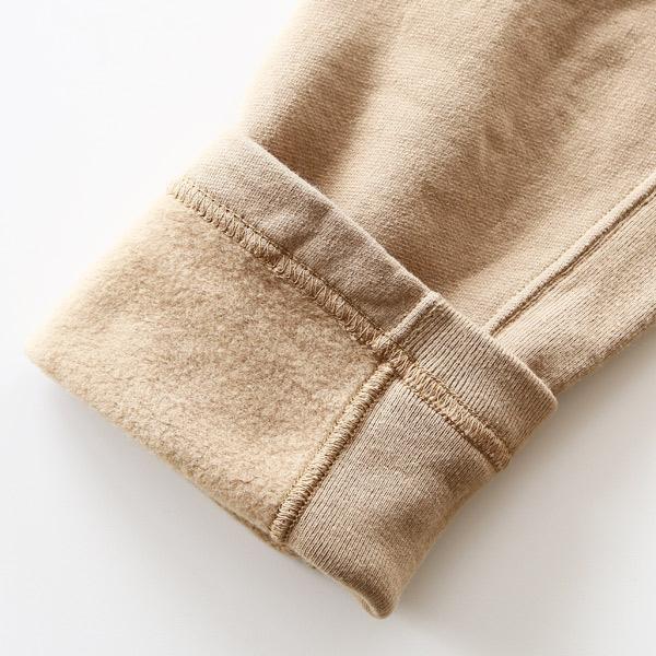 袖の生地切り替え(CHINO BEIGE)