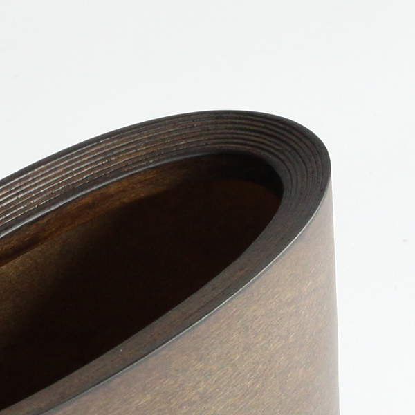 コイル状のブナ材が美しいBUNACO レターホルダー ショート