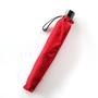 ミラトーレ 2段折りたたみ傘 レッド