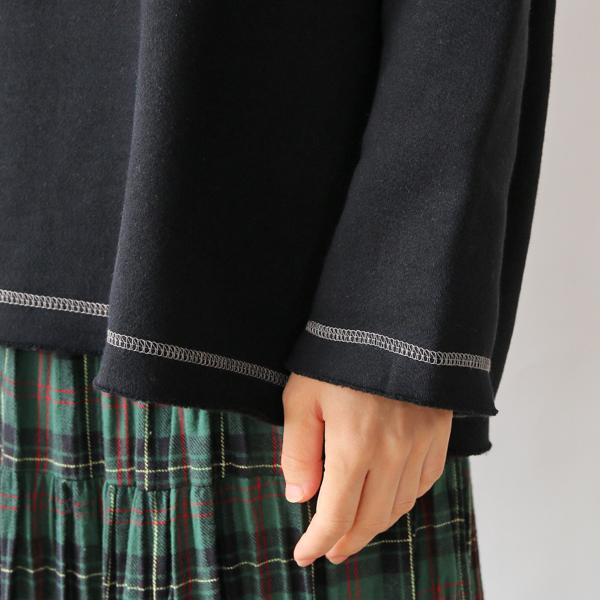 裾、袖アップ(BLACK)