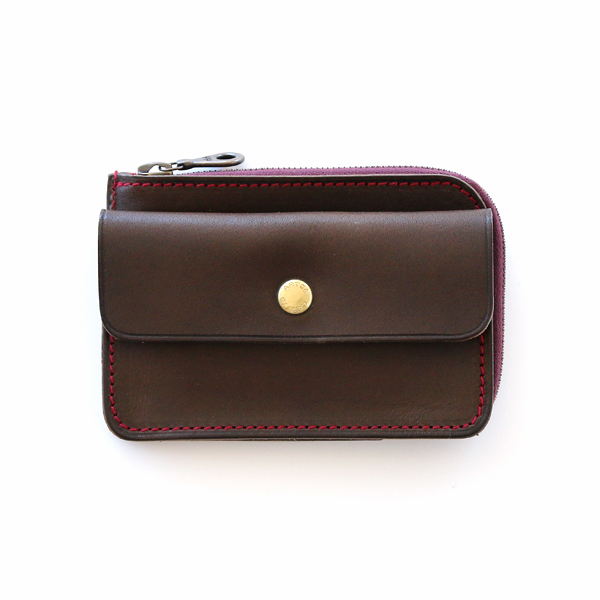 COMPACT TWIN PURSE(OLIVE)