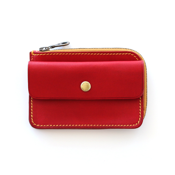 COMPACT TWIN PURSE(RED)