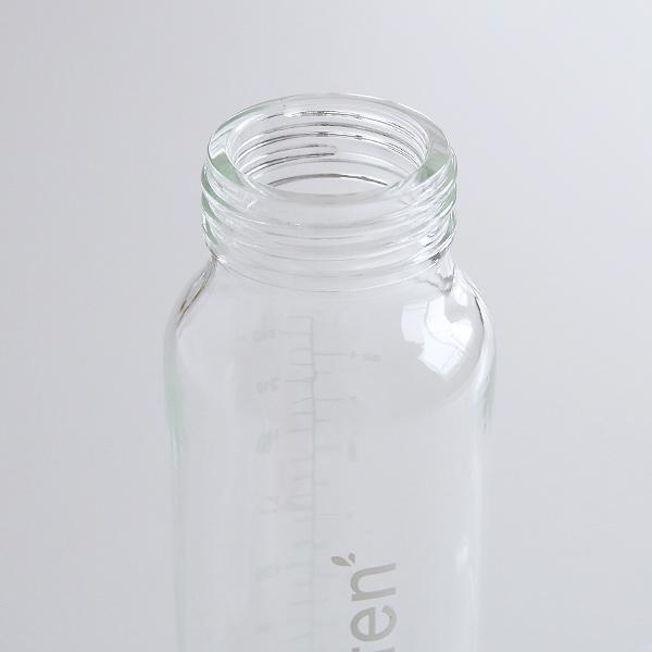 ボトル本体はガラス製で、電子レンジ・食洗機対応